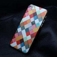 """Пластиковый чехол накладка для iPhone 6 / 6s (4.7"""") кубики"""