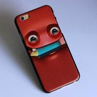 """Пластиковый чехол накладка для iPhone 6 / 6s (4.7"""") бука красный"""