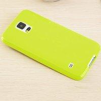 Зеленый силиконовый чехол для Samsung Galaxy S5 mini