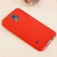 Красный силиконовый чехол для Samsung Galaxy S5 mini