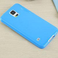 Голубой силиконовый чехол для Samsung Galaxy S5 mini