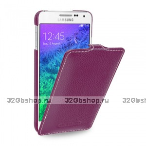 Фиолетовый чехол Art Case для Samsung Galaxy Alpha SM-G850 - Purple