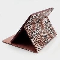 Чехол книжка для iPad Air леопард - Leopard Print Case Brown
