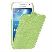 Чехол книжка для Samsung Galaxy S4 mini i9190 зеленый