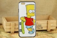 """Пластиковый чехол для iPhone 6 / 6s (4.7"""") с рисунком Барт Симпсон - Bart Simspon"""