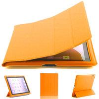 Желтый чехол обложка с рамкой Mobi Cover для iPad 4 / 3 / 2