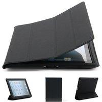Черный чехол обложка с рамкой Mobi Cover для iPad 4 / 3 / 2