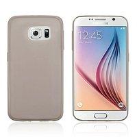Серый прозрачный силиконовый чехол для Samsung Galaxy S6