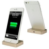 Золотая док-станция и кабель для iPhone 6s / 6 / 6 plus - Docking Station iPhone and Lighting cable6 Gold