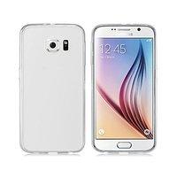 Белый силиконовый чехол для Samsung Galaxy S6
