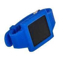 Силиконовый чехол для iPod nano 6 браслет с металлической застежкой синий