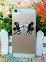 Пластиковый чехол накладка для iPhone 5s / SE / 5 Мики и Мини