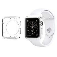 Прозрачный силиконовый чехол для Apple Watch 42mm