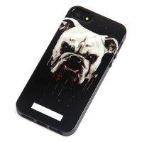 Силиконовый чехол накладка для iPhone 5s / SE / 5 Бульдог