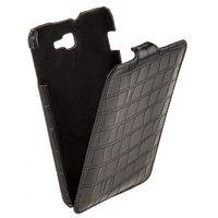 Кожаный чехол Melkco для Samsung Galaxy Note 3 N9000 черный крокодил Leather Case Jacka Type Crocodile Print Pattern - Black