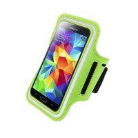 Спортивный чехол на руку для Samsung Galaxy S5 зеленый