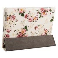 Чехол Jisoncase для iPad 4/ 3/ 2 розовые пионы
