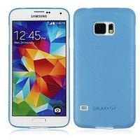 Голубой ультратонкий чехол для Samsung Galaxy S6 - 0.3mm Ultra Thin Matte Case Blue