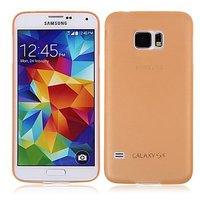 Оранжевый ультратонкий чехол для Samsung Galaxy S6 - 0.3mm Ultra Thin Matte Case Orange