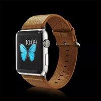 Коричневый кожаный ремешок для Apple Watch 42мм - G-Case Genuine Leather Watchband Brown