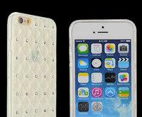 Силиконовый чехол со стразами для iPhone 6 / 6s - Crystal Diamond Silicone Case