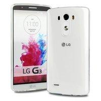 Тонкий прозрачный силиконовый чехол для LG G3