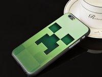 """Пластиковый чехол для iPhone 6 / 6s (4.7"""") с рисунком Minecraft - Майнкрафт Крипер"""