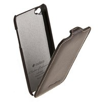 Кожаный чехол книжка Melkco для iPod Touch 4 Leather Case Jacka Type (Brown LC)