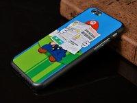 """Пластиковый чехол накладка для iPhone 6 / 6s (4.7"""") с рисунком Марио - Mario"""