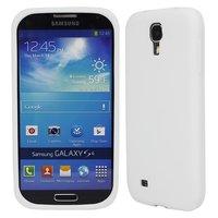 Силиконовый чехол для Samsung Galaxy S4 mini i910 - белый