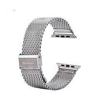 Металлический браслет XINCUCO для Apple Watch 38мм браслет с сетчатым миланским плетением