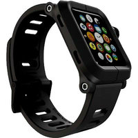 Защитный алюминиевый чехол с ремешком EPIK Apple Watch Kit для Apple Watch 42mm черный