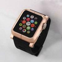 Защитный алюминиевый чехол с ремешком EPIK Apple Watch Kit для Apple Watch 42mm золотой