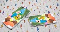 """Пластиковый чехол накладка белая для iPhone 6 / 6s (4.7"""") с рисунком Adventuretime - Время приключений Финн и Джейк"""