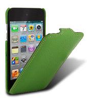 Кожаный чехол книжка Melkco для iPod Touch 4 Leather Case Jacka Type (Green LC)