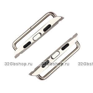 Адаптер крепления ремешка для Apple Watch 42mm стальной - Stainless Steel Watchband Connection Adaper