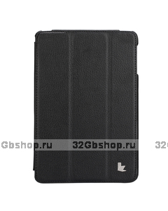 Чехол книжка Jisoncase для iPad mini 3 / 2 черный - Jisoncase Smart Case for iPad Mini Retina Black