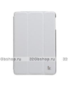 Чехол книжка Jisoncase для iPad mini 3 / 2 белый - Jisoncase Smart Case for iPad Mini Retina White