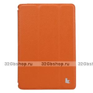 Чехол книжка Jisoncase для iPad mini 3 / 2 оранжевый - Jisoncase Smart Case for iPad Mini Retina Orange