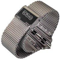 Плетеный сетчатый металлический браслет COTEetCI для Apple Watch 42мм Миланский ремешок