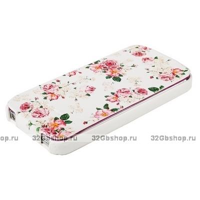 Fashion Чехол Fashion Flowers Pattern White&Pink для iPhone 5 ...