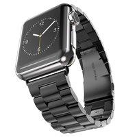 Браслет из нержавеющей стали для Apple Watch 42mm черный
