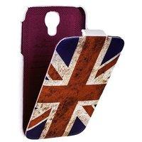 Чехол книжка Fashion для Samsung Galaxy S4 британский флаг