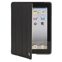 Кожаный чехол Jisoncase Executive для iPad 4 / 3 / 2 черный