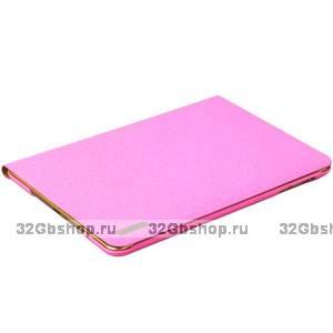 Розовый чехол книжка подставка Birscon для iPad mini 3 /2 - Birscon Cool series Pinк
