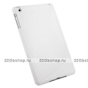 Чехол силиконовый для iPad mini жесткий  белый