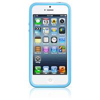 Оригинальный бампер для Apple iPhone 5c голубой