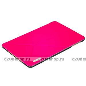 Красный чехол книжка обложка Birscon для iPad mini 3 /2 - Birscon Simple series Rose Red