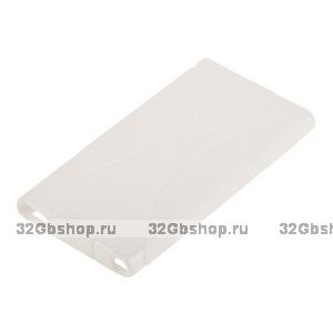 Силиконовый чехол  для iPod nano 7 белый