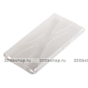 Силиконовый чехол  для iPod nano 7 прозрачный